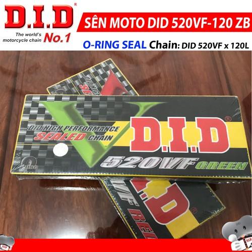 Sên Moto DID 520VF 120ZB O-RING SEAL - 6186354 , 12742780 , 15_12742780 , 1279000 , Sen-Moto-DID-520VF-120ZB-O-RING-SEAL-15_12742780 , sendo.vn , Sên Moto DID 520VF 120ZB O-RING SEAL