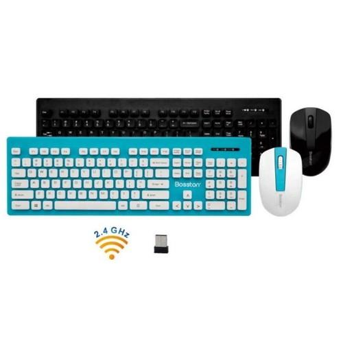 Combo phím chuột không dây Bosston WS300