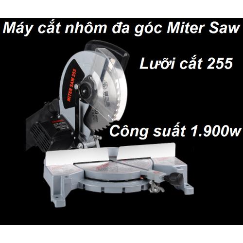 Máy cắt nhôm đa góc Miter Saw 1900W|máy cắt nhôm