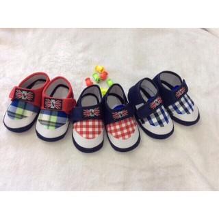 Giày vải tập đi siêu nhẹ cho bé 6-18 tháng