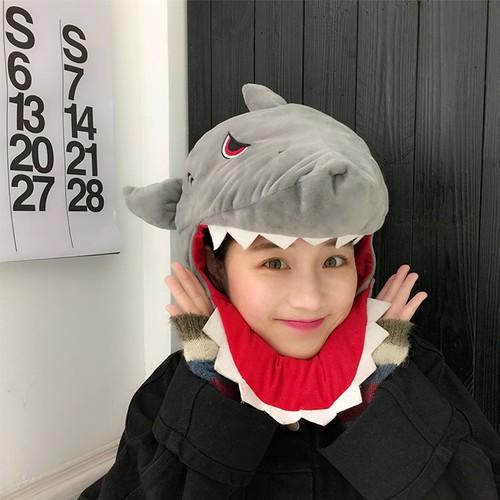 Mũ nón đầu Cá mập Baby Shark đáng yêu, thời trang