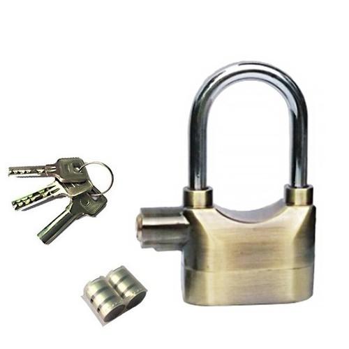 Ổ khóa chống trộm Kinbar K101CH - mạ Crom càng dài