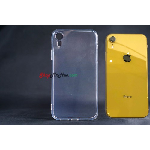 Ốp Lưng Dẻo Trong Suốt Iphone XR