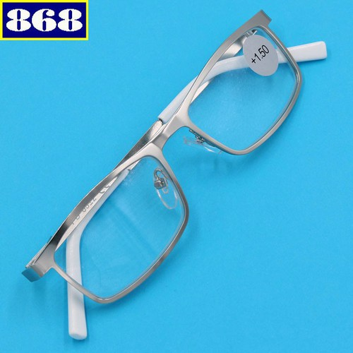 Mắt kính lão inox 868 màu bạc 1.5 độ