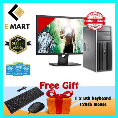 Máy Tính HP 6300MT + LCD 27inch I5 3470, Ram8GB, SSD120GBGB, HDD3TB