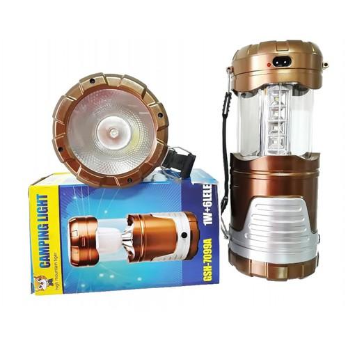 Đèn bão năng lượng mặt trời Camping Light 7099
