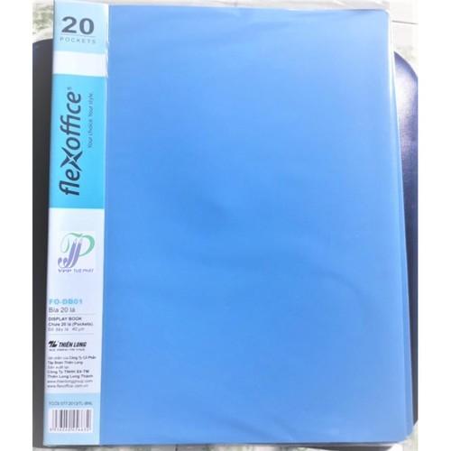 Bìa nhựa 20 lá Thiên Long FO DB-01 - 4459898 , 12884984 , 15_12884984 , 25000 , Bia-nhua-20-la-Thien-Long-FO-DB-01-15_12884984 , sendo.vn , Bìa nhựa 20 lá Thiên Long FO DB-01