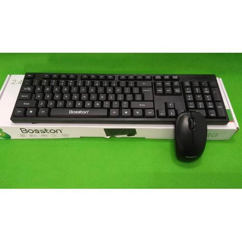 Combo phím chuột không dây Bosston WS-100