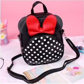 Balo thời trang vừa là túi đeo chéo họa tiết Mickey cho bé mầm non KDR-BL196 - KDR-BL196 thumbnail