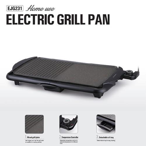 Bếp Nướng Điện 2000W Lock Lock Electric Grill Pan EJG231