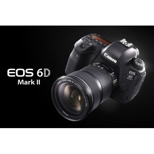 Máy ảnh Canon EOS 6D Mark II thân máy