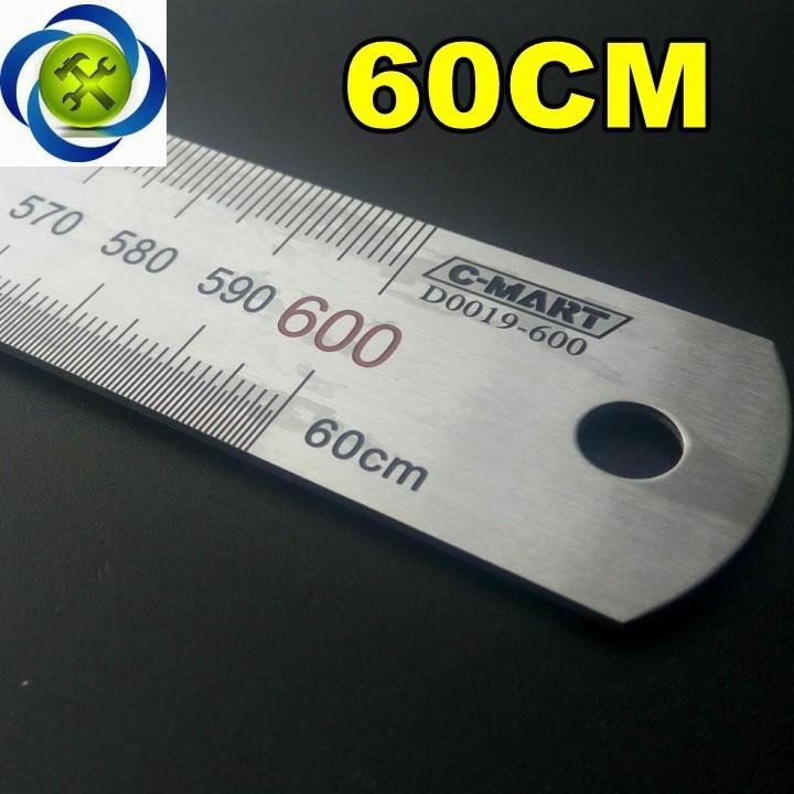 Thước lá C-Mart D0019-600 600mm 1