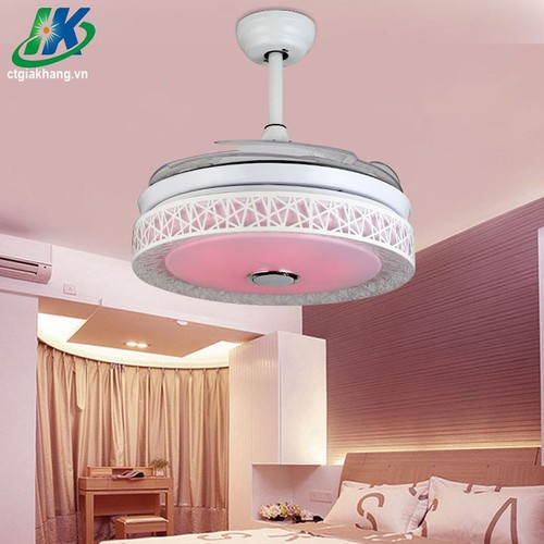 Hình thật Quạt trần đèn trang trí kết nối Bluetooth đèn nhiều màu - 6195534 , 12752924 , 15_12752924 , 3780000 , Hinh-that-Quat-tran-den-trang-tri-ket-noi-Bluetooth-den-nhieu-mau-15_12752924 , sendo.vn , Hình thật Quạt trần đèn trang trí kết nối Bluetooth đèn nhiều màu
