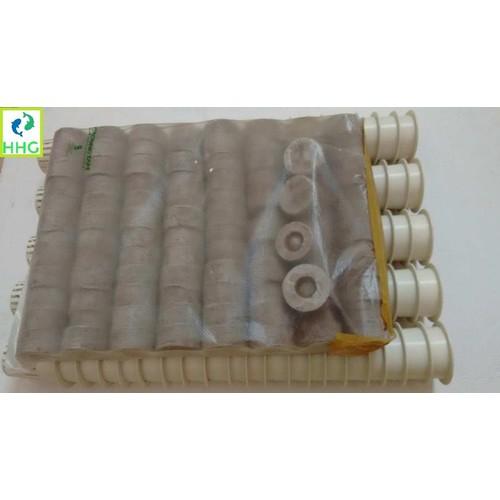 100 Rọ nhựa thủy canh 4.5X5.5cm và 100 viên nén ươm hạt BATRIVINA