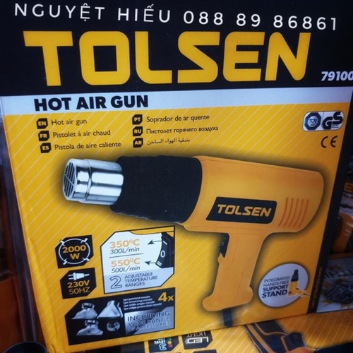 Máy khò hơi nóng Tolsen 79100 - 6215989 , 12778512 , 15_12778512 , 395000 , May-kho-hoi-nong-Tolsen-79100-15_12778512 , sendo.vn , Máy khò hơi nóng Tolsen 79100