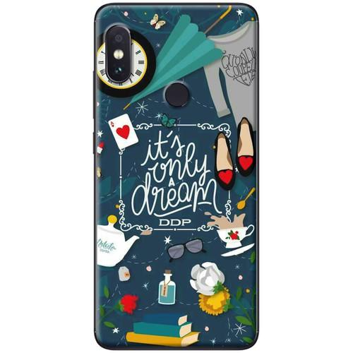 Ốp lưng nhựa dẻo Xiaomi Mi 8 Chỉ là giấc mơ