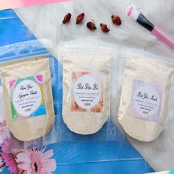 Combo Tẩy Tế Bào Chết - Bột Cám Gạo, Bột Đậu Đỏ, Bột Yến Mạch 100 Gram