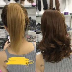 tóc cột xoăn