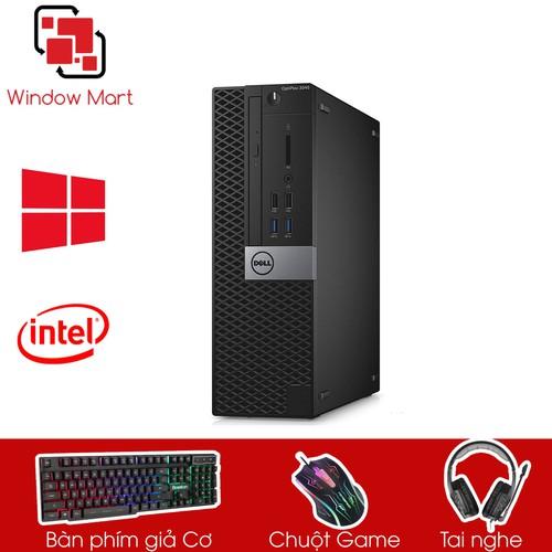 Dell 3040 SFF I3 6100- Ram 8GB- SSD 120GB- HDD 2TB
