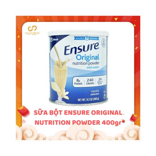 Sữa ensure bột xách tay |sua ensure xach tay 400g xuất xứ Mỹ date 12.2020