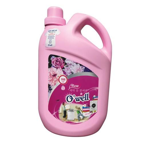Nước giặt xả hương Gió Xuân O Well 3.5L + Tặng 1 chai Nước rửa chén quế 400ml