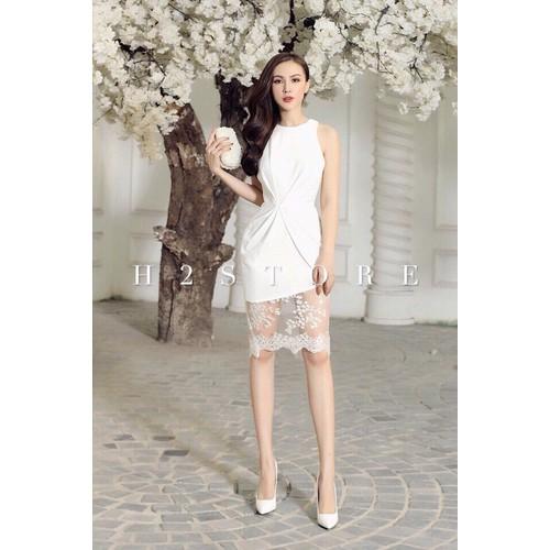 Đầm ren nữ tôn dáng