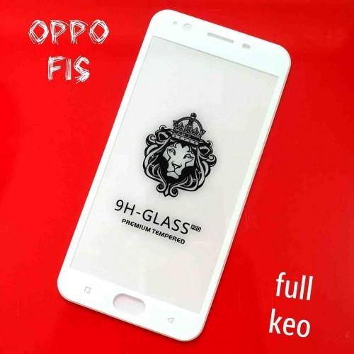 Miếng Dán Cường Lực Oppo F1s 5D Full Cứng Full Keo Màu Trắng