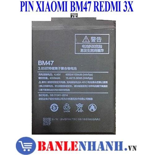 PIN XIAOMI BM47 REDMI 3X