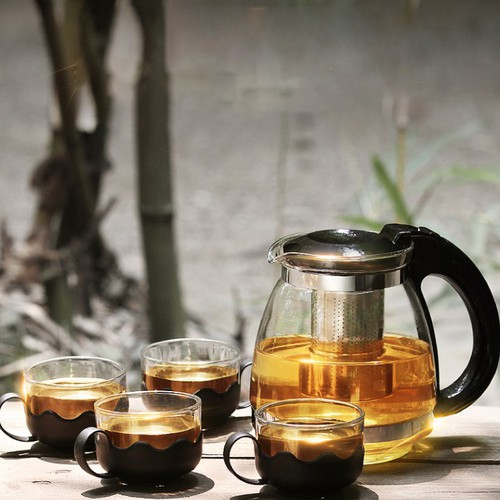 Bộ bình pha trà có lõi lọc