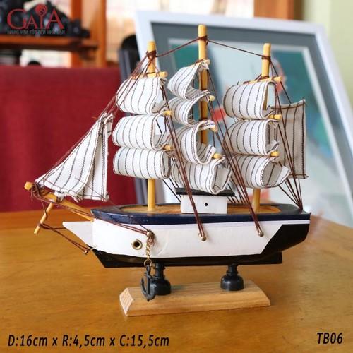 Thuyền buồm phong thủy, thuận buồm xuôi gió TB06