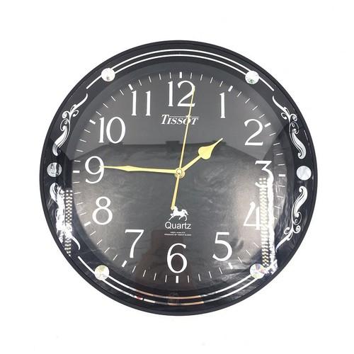 [Vati] Đồng hồ treo tường hình tròn viền đẹp S64