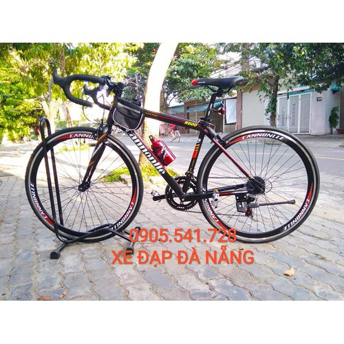 xe đạp - xe đạp đua Cannonlle nhập khẩu từ Thái Lan màu đỏ