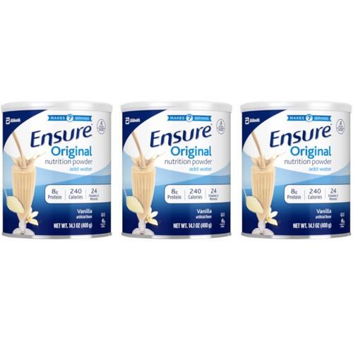 Lốc 3 hộp sữa bột Ensure 400g hương vanilla - 6205097 , 12764539 , 15_12764539 , 950000 , Loc-3-hop-sua-bot-Ensure-400g-huong-vanilla-15_12764539 , sendo.vn , Lốc 3 hộp sữa bột Ensure 400g hương vanilla