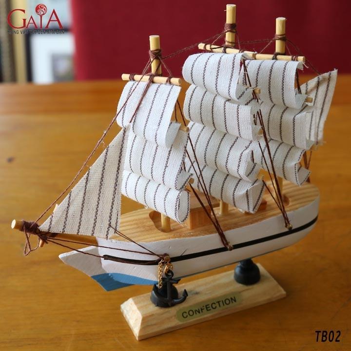 Thuyền buồm phong thủy thuận buồm xuôi gió TB02 2