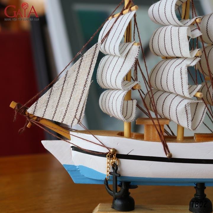Thuyền buồm phong thủy thuận buồm xuôi gió TB02 3