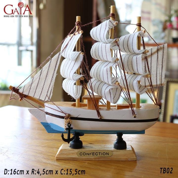 Thuyền buồm phong thủy thuận buồm xuôi gió TB02 1