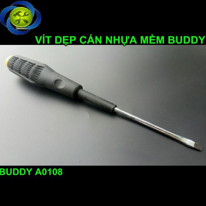 Vít dẹp cán nhựa mềm Buddy A0108 150mm 1