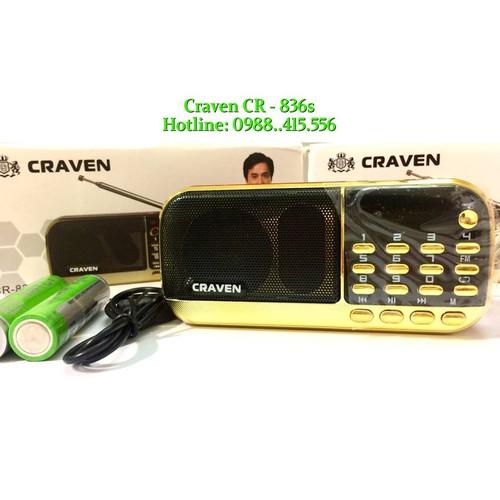 Combo 5 Loa Craven CR 836s