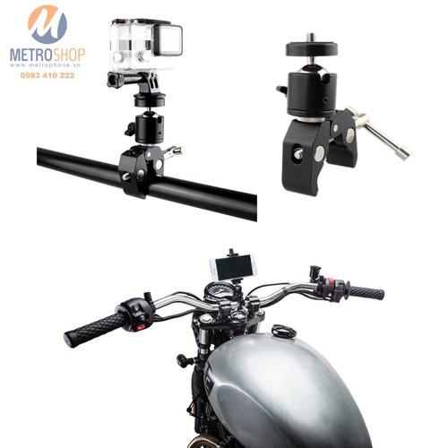 Kẹp gắn điện thoại và Action Cam máy ảnh trên xe - 6558545 , 13213968 , 15_13213968 , 210000 , Kep-gan-dien-thoai-va-Action-Cam-may-anh-tren-xe-15_13213968 , sendo.vn , Kẹp gắn điện thoại và Action Cam máy ảnh trên xe