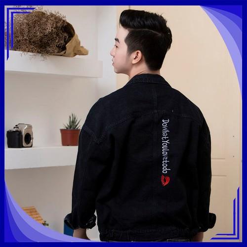 Áo Khoác jean Unisex Gấu Nâu GN259 |áo khoác nam đẹp
