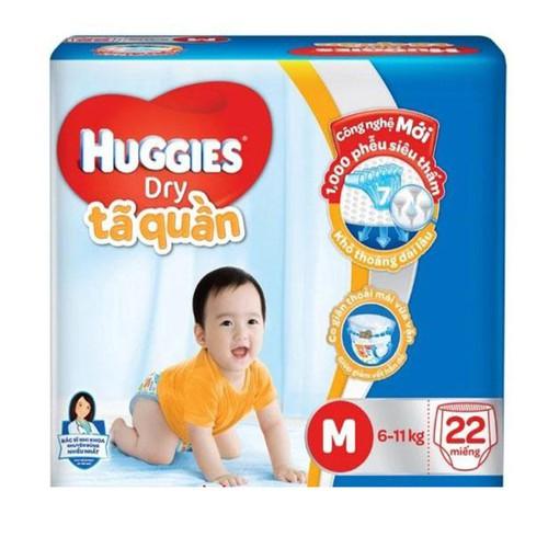 Tã quần Huggies size M – 22 miếng 6-11kg