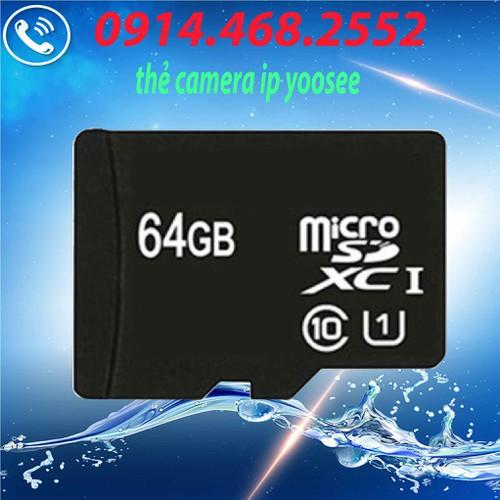 thẻ nhớ micro sd 64gb hàng đủ chuẩn class 10