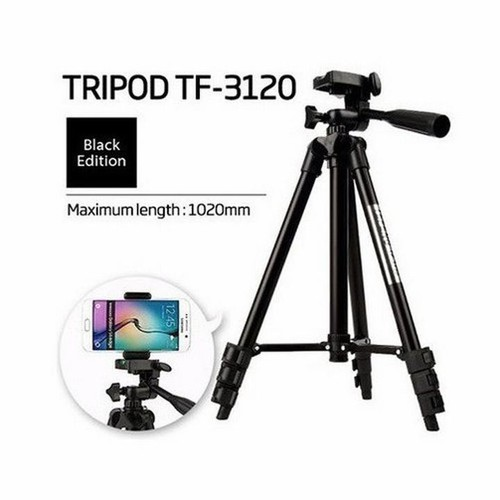 Chân máy ảnh - Bộ chân máy ảnh Tripod 3120 + đầu kẹp điện thoại + Remote CAM KẾT CHẤT LƯỢNG BỞI BÁCH HÓA ONLINE
