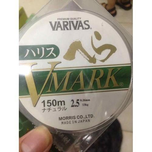 Cước câu cá varivas Vmark 150 mét - cuocvmark