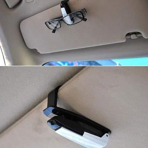 kẹp kính bút trên xe