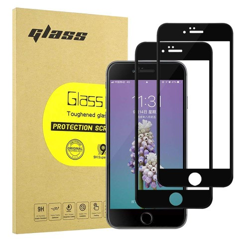 COMBO 2 Miếng dán cường lực 5D iPhone 6 Plus 6S Plus full màn