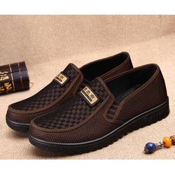 Giày lười vải nam cao cấp