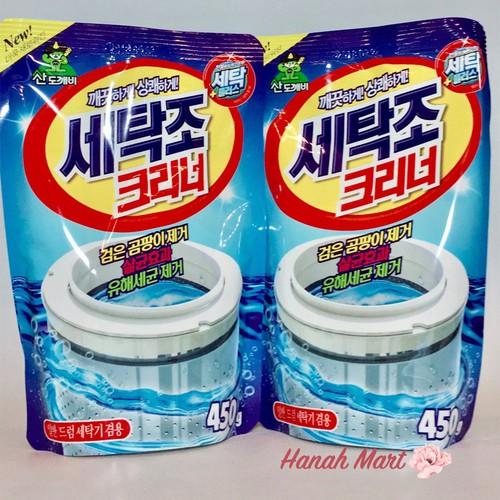 Bột tẩy vệ sinh lồng máy giặt 450g Panda Hàn Quốc