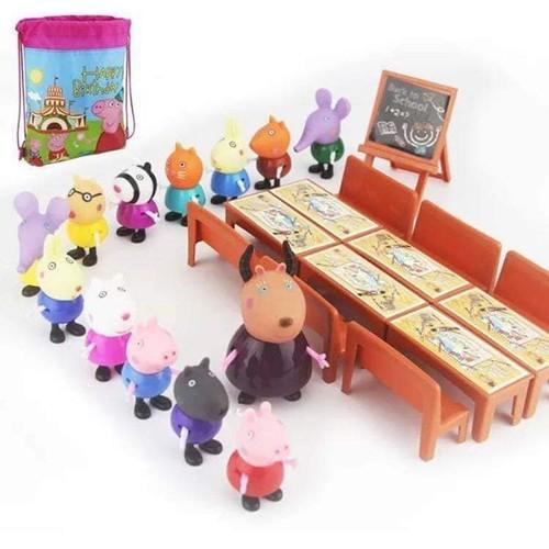 [LOẠI LỚN CÓ TẶNG TÚI] bộ lớp học heo Peppa 35 chi tiết 21 nhân vật - đồ chơi heo Peppa pig - 10916929 , 13213915 , 15_13213915 , 165000 , LOAI-LON-CO-TANG-TUI-bo-lop-hoc-heo-Peppa-35-chi-tiet-21-nhan-vat-do-choi-heo-Peppa-pig-15_13213915 , sendo.vn , [LOẠI LỚN CÓ TẶNG TÚI] bộ lớp học heo Peppa 35 chi tiết 21 nhân vật - đồ chơi heo Peppa pig