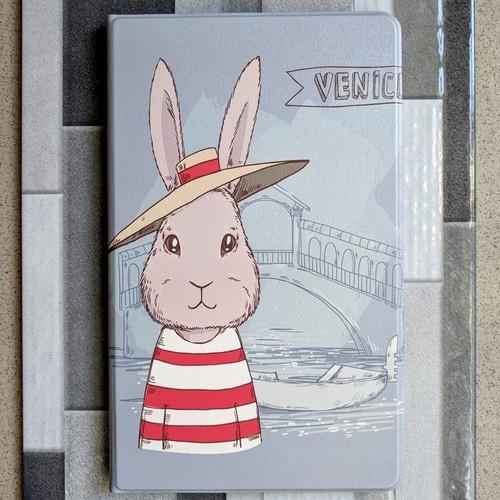 Bao da Mi Pad 4 Plus hình thỏ